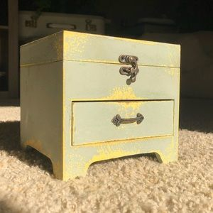 Seafoam Green Small Chest